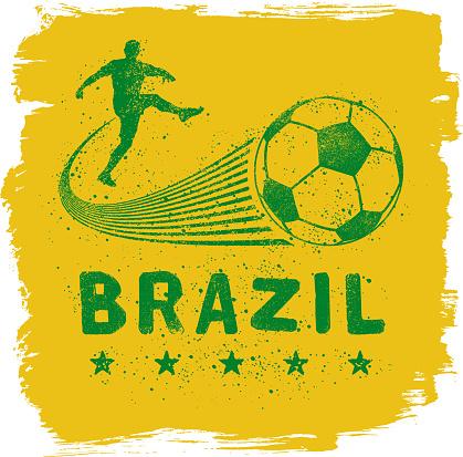 Brazil Graffiti Sign
