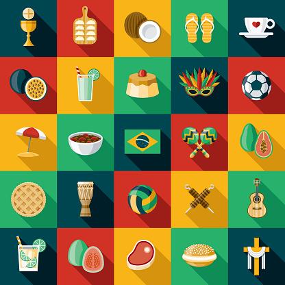 Brazil Icon Set