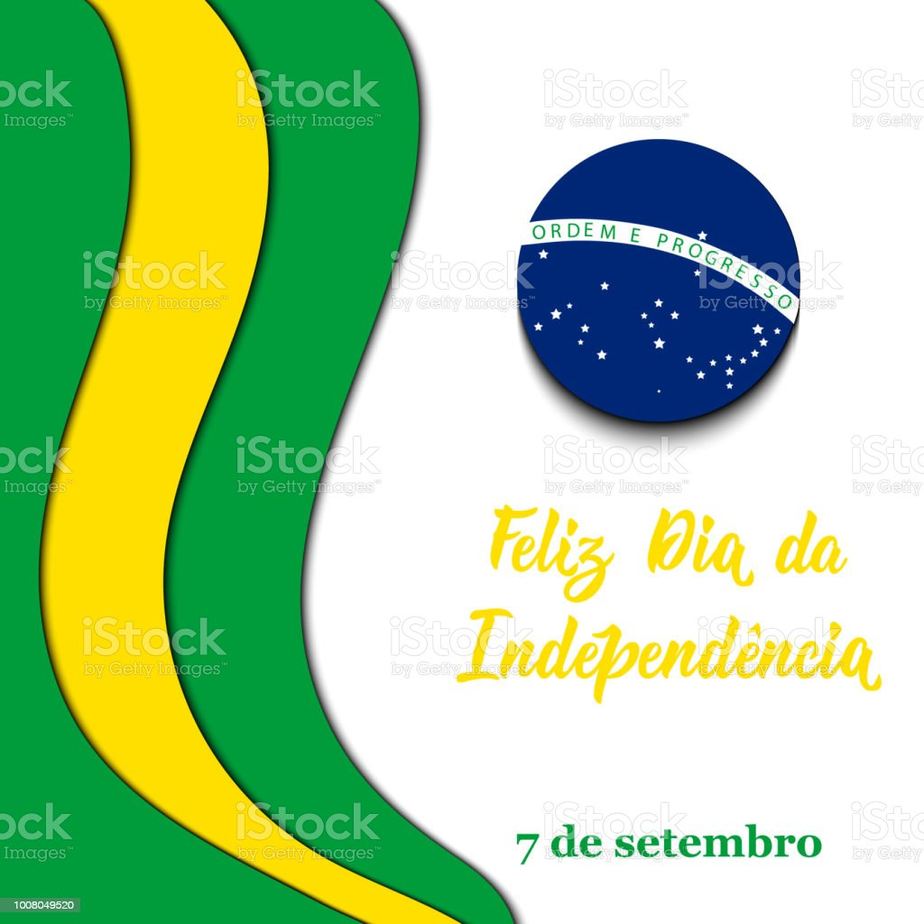 Brazil independence day greeting card text in portuguese happy brazil independence day greeting card text in portuguese happy independence day september 7 m4hsunfo