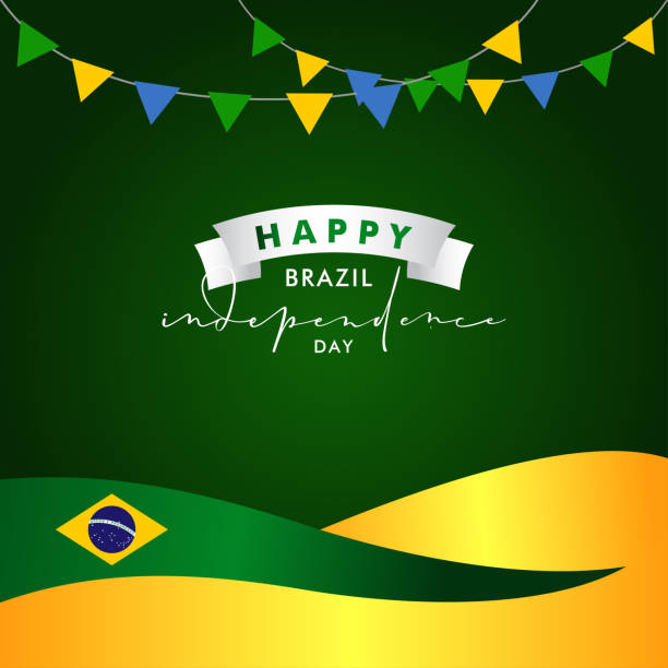 Brazil Independence Day Vector Design Illustration For Celebrate Moment vector art illustration
