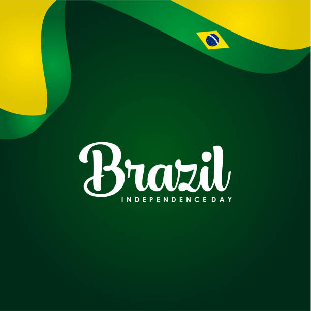 Brazil Independence Day Vector Design Template vector art illustration