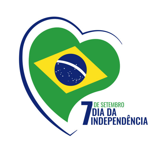 Brazil Independence Day Vector Illustration on the theme Independence Day of Brazil. independence day holiday stock illustrations