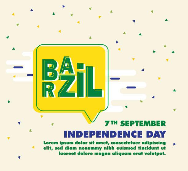 巴西獨立日向量例證 - 獨立 幅插畫檔、美工圖案、卡通及圖標