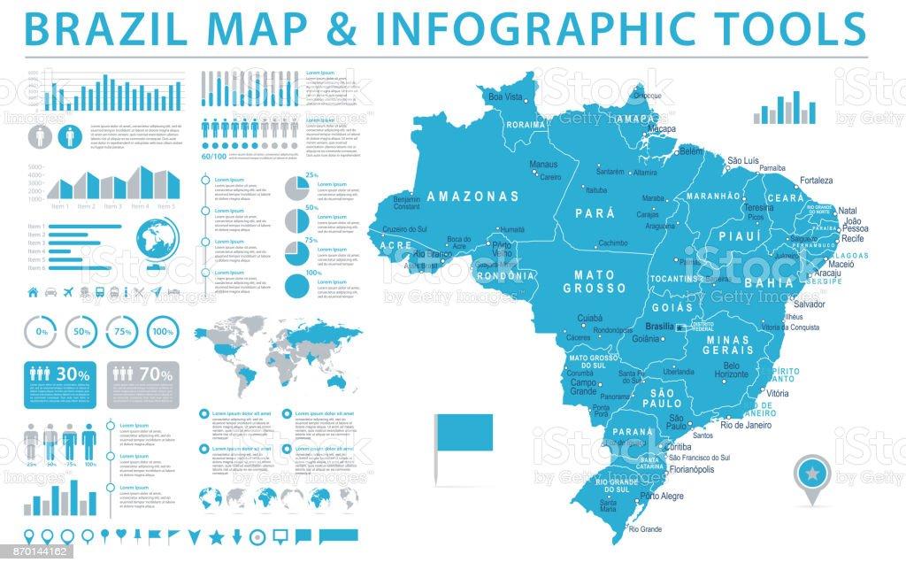 Brazil map info graphic vector illustration stock vector art more brazil map info graphic vector illustration royalty free brazil map info graphic vector illustration gumiabroncs Image collections