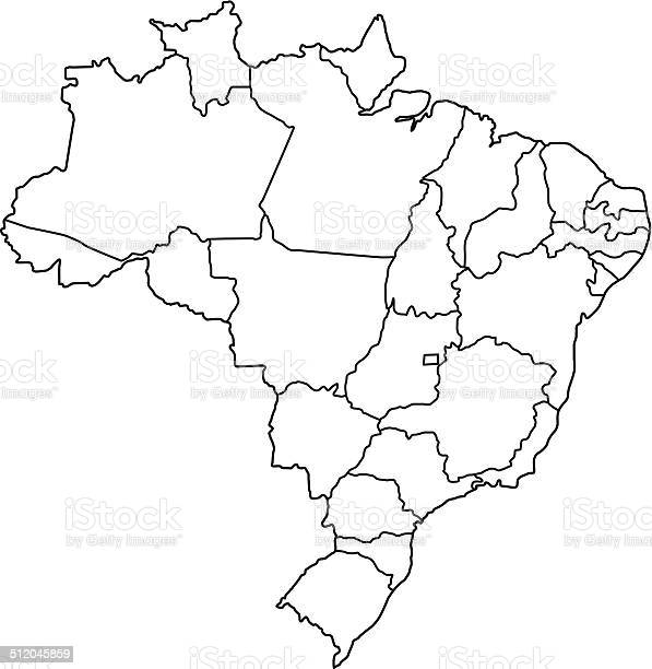Brazil map outline white background vector id512045859?b=1&k=6&m=512045859&s=612x612&h=adttrekotk 2vj46hnj4hatulzic4u8zehmsigt0tci=