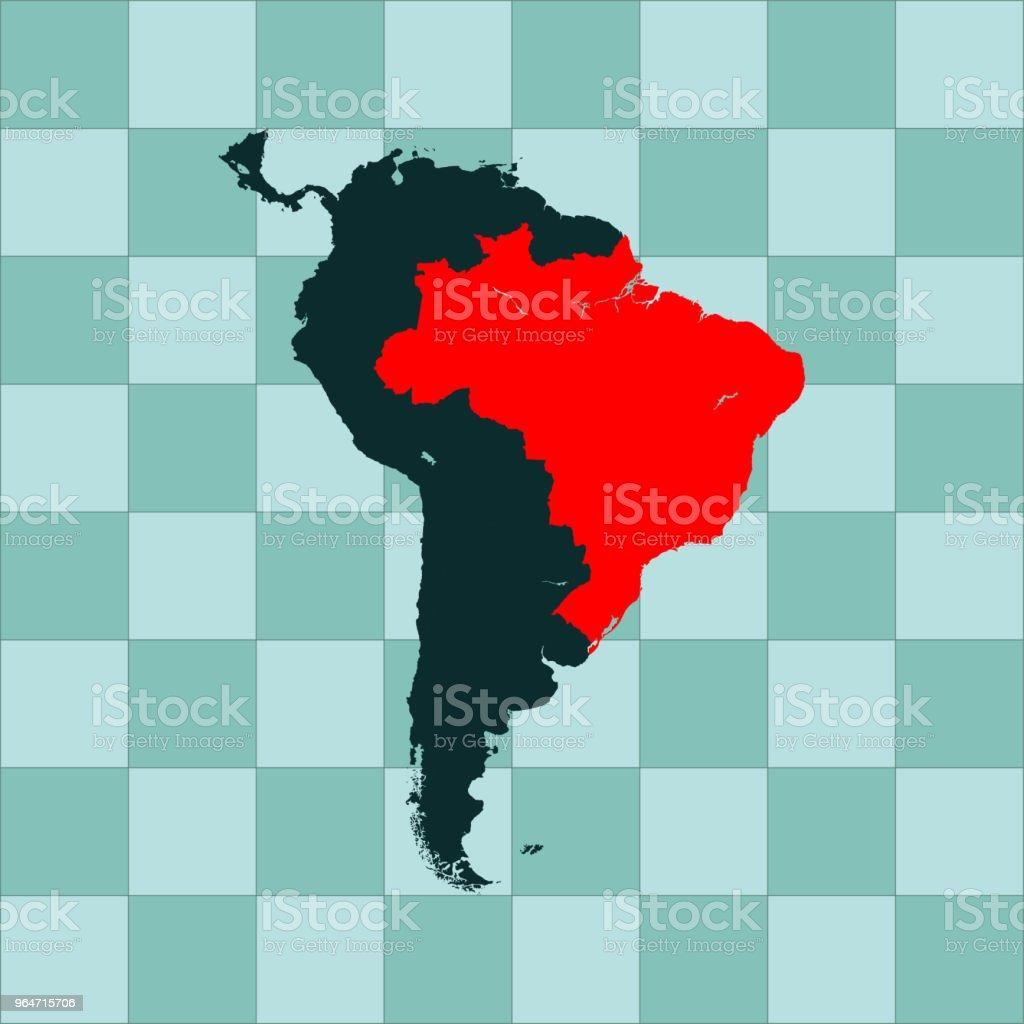 Brazil map royalty-free brazil map stock vector art & more images of brazil