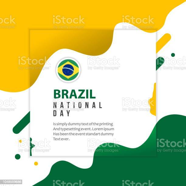 Brazil national day vector template design illustration vector id1048559686?b=1&k=6&m=1048559686&s=612x612&h=ud83ezkdhlc0hrbl4hbtcmbc bjmvwrnln4irzdebbu=
