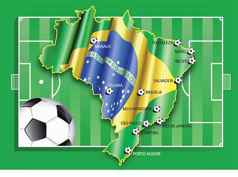 Brazil soccer championship 2014 cities