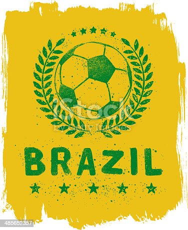 istock Brazil Soccer Sign 485652357