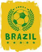 Brazil Soccer Sign