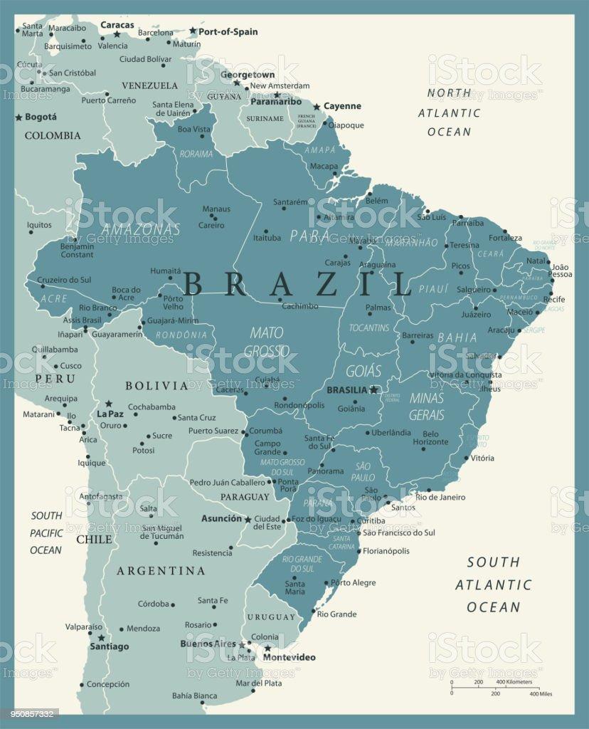 23 - Brasil - Murena Vintage 10 - ilustração de arte em vetor