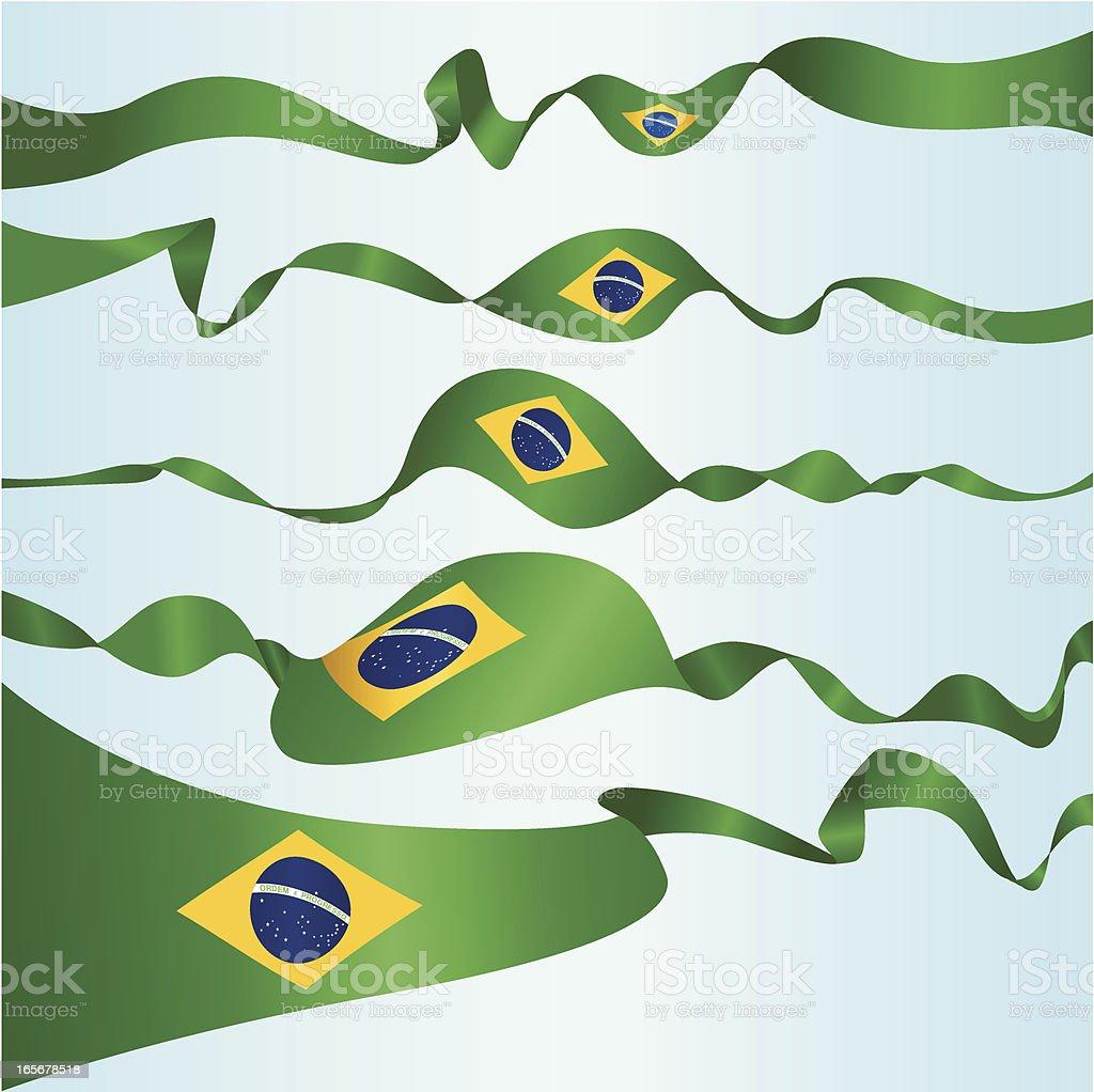 Brazilian Banners royalty-free stock vector art