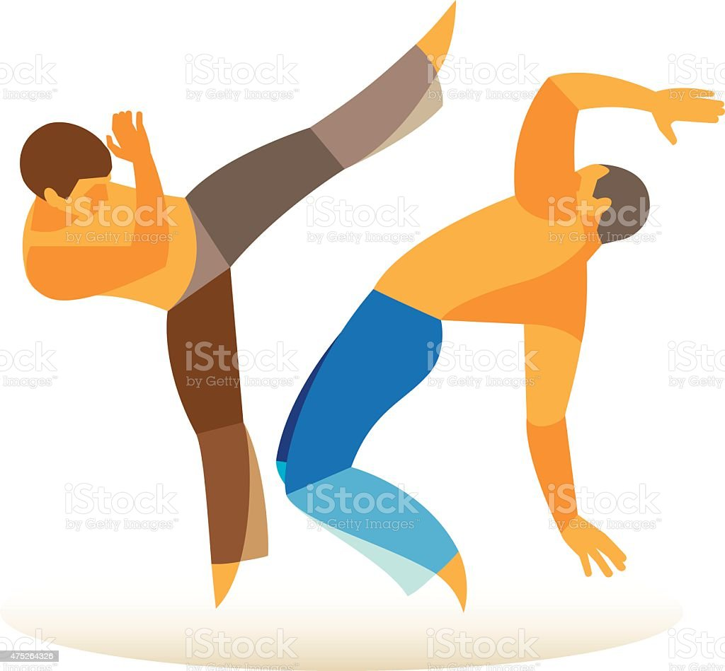 Image result for capoeira clipart