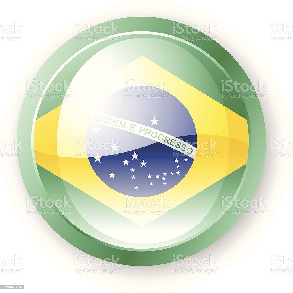 Brazilian Flag Icon royalty-free stock vector art