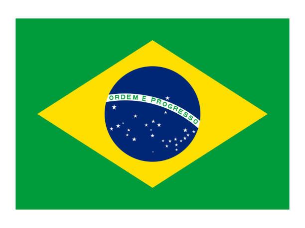 ilustrações, clipart, desenhos animados e ícones de bandeira brasileira - brazil