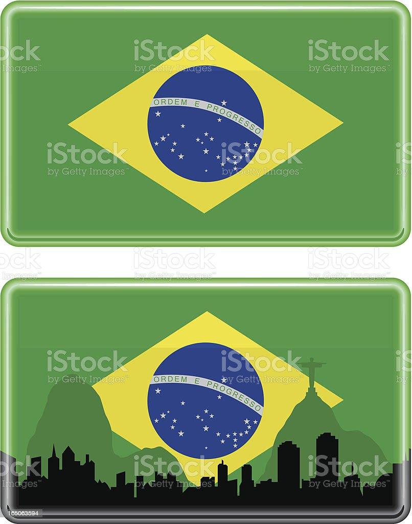 Brazilian Flag royalty-free brazilian flag stock vector art & more images of back lit