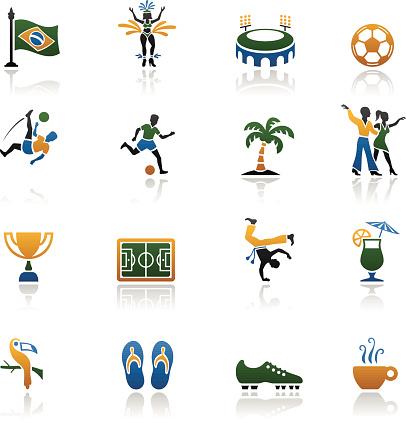 Brazilian Icon Set