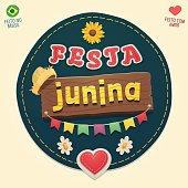 Brazilian June Party cool logo