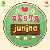 Brazilian June Party cute Logo