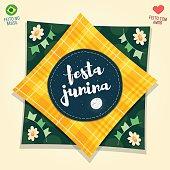 Brazilian June Party flag logo