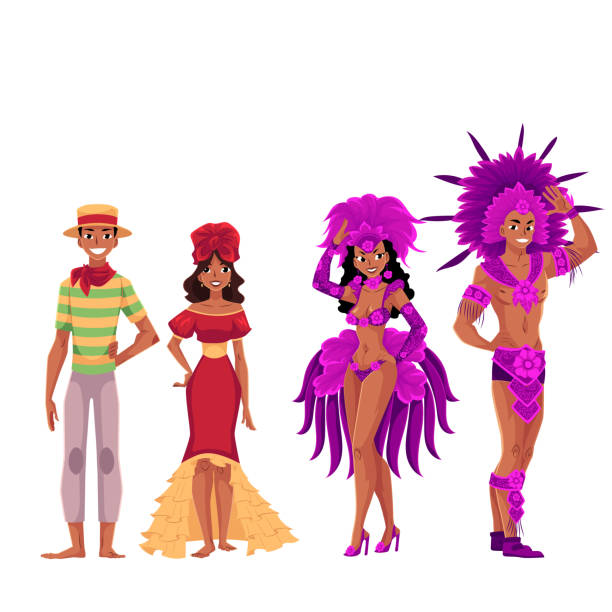 Best Brazilian Carnival Illustrations, Royalty-Free Vector ...