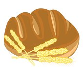 Bread and ear of the wheat