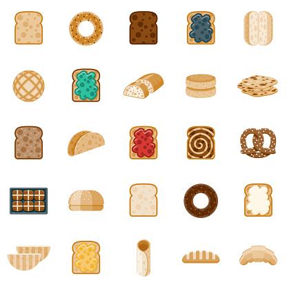Bread Icon Set