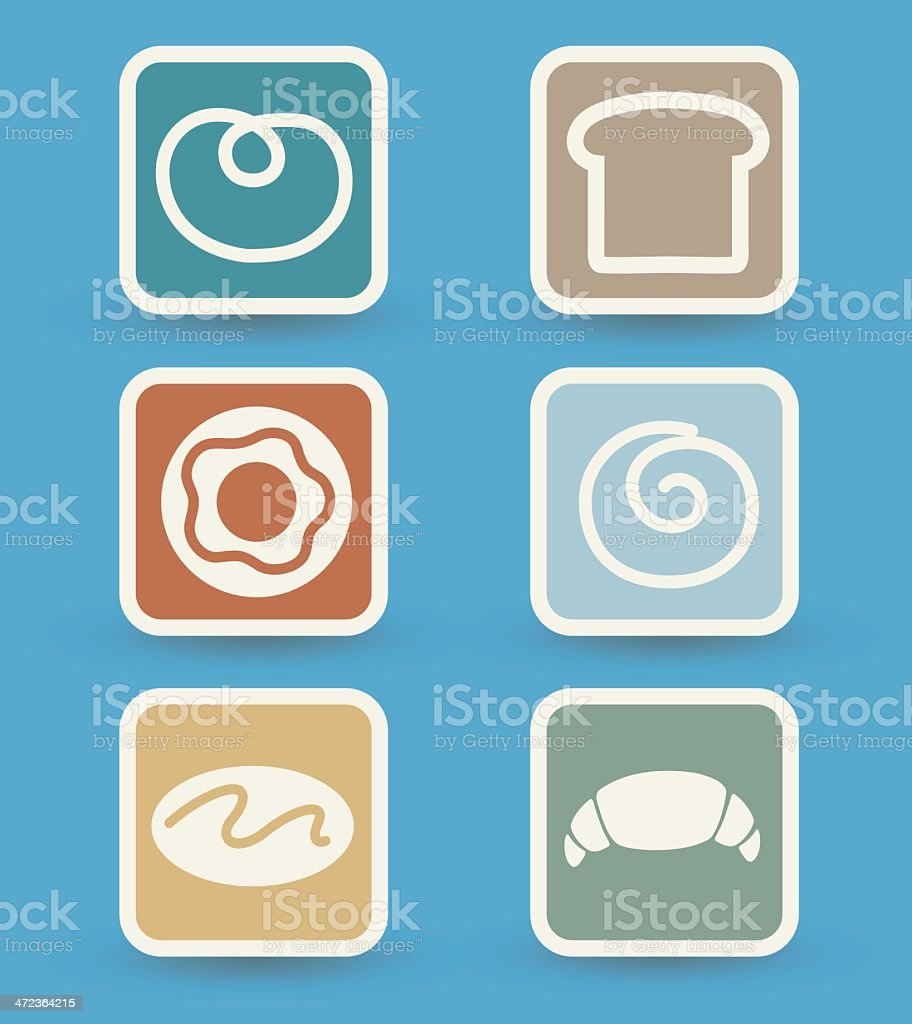 Bread icons royalty-free bread icons stock vector art & more images of baked pastry item