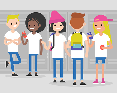 Teenager stock illustrations