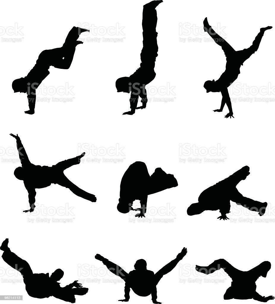 Break dancing people royalty-free break dancing people stock vector art & more images of adolescence