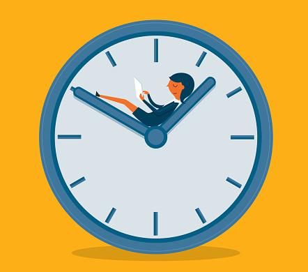 Break time - Businesswoman