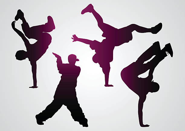 Breakdance Dancing Clipart - Break Dance Clip Art - Free Transparent PNG  Clipart Images Download