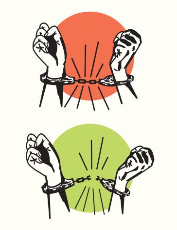 Breaking Free - Handcuffs