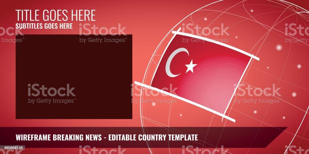 뉴스 속보 royalty-free 뉴스 속보 국기에 대한 스톡 벡터 아트 및 기타 이미지
