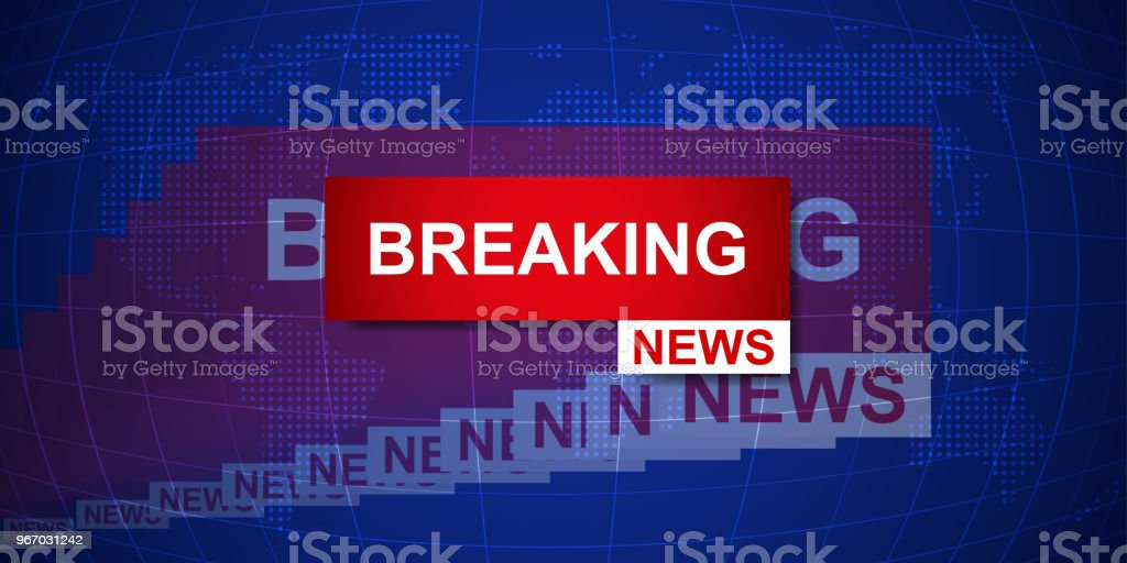 Breaking news world map background business technology politics news breaking news world map background business technology politics news background vector illustration royalty gumiabroncs Images