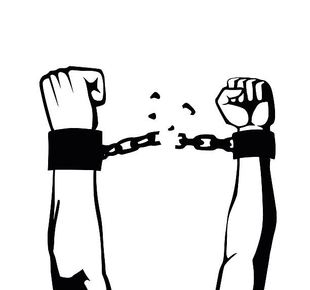 Top 60 Slavery Chains Clip Art, Vector Graphics and ...