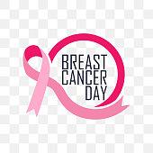 breast cancer awareness for men and women, vector illustration