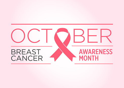 Breast Cancer. Awareness Month Banner