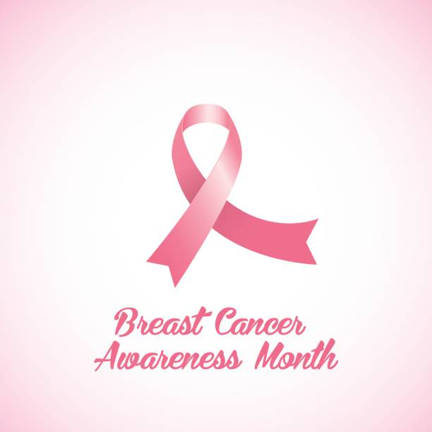 royalty free breast cancer brochure template clip art vector breast cancer brochure template