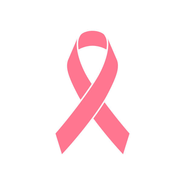 stockillustraties, clipart, cartoons en iconen met borstkanker bewustwording linten - breast cancer