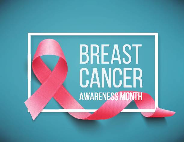 meme kanseri bilinçlendirme - breast cancer awareness stock illustrations