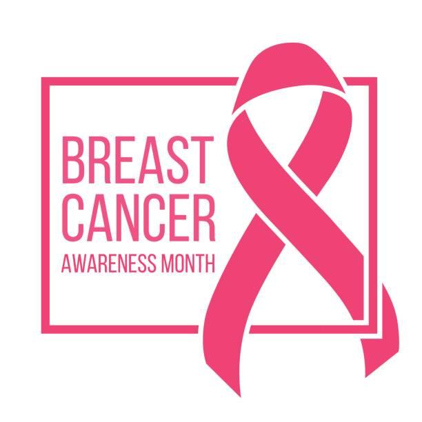 ilustraciones, imágenes clip art, dibujos animados e iconos de stock de concienciación sobre el cáncer de mama - símbolo societal