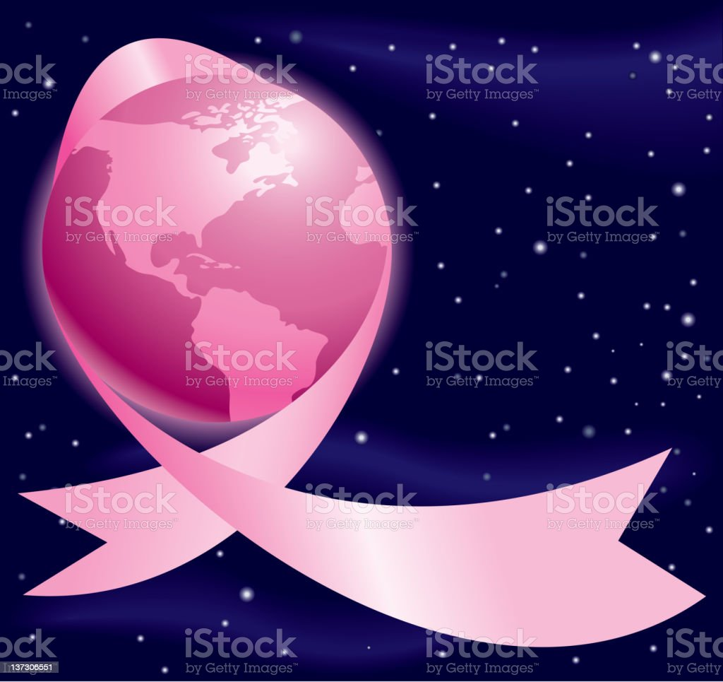 Breast Cancer Global Awareness royalty-free stock vector art