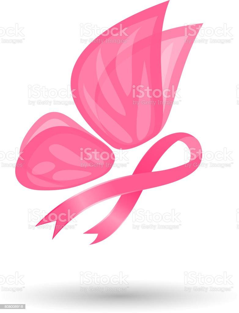 Imagenes Logo Del Cancer De Mama - Real Clipart And Vector Graphics •