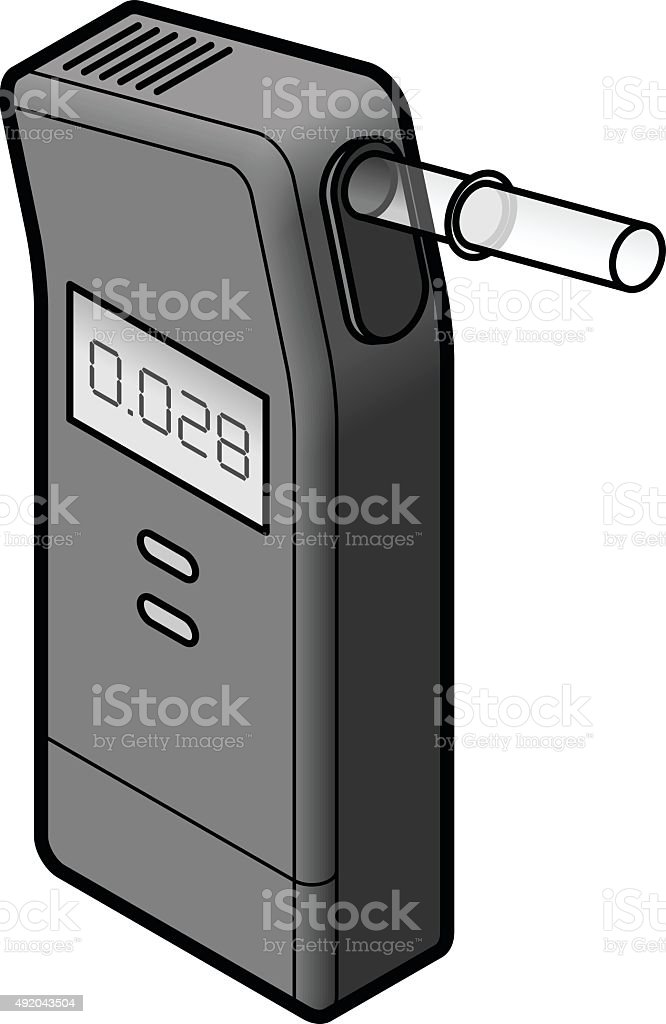 Breathalyzer Stock Vector Art & More Images of 2015 - iStock