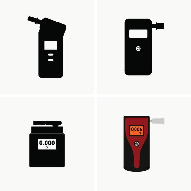 Breathalyzer Available in high-resolution and several sizes to fit the needs of your project. emergency equipment stock illustrations