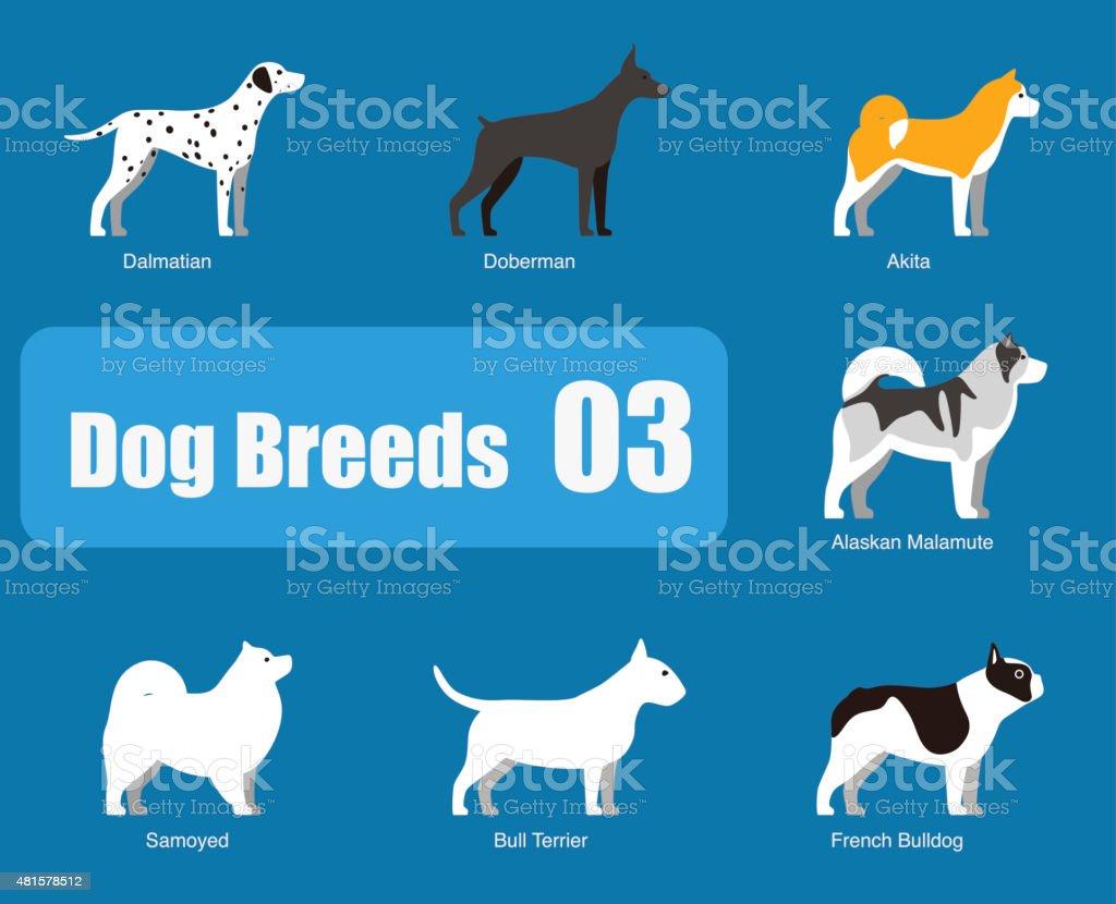 Pies rasy stałego strony, WEKTOR – artystyczna grafika wektorowa