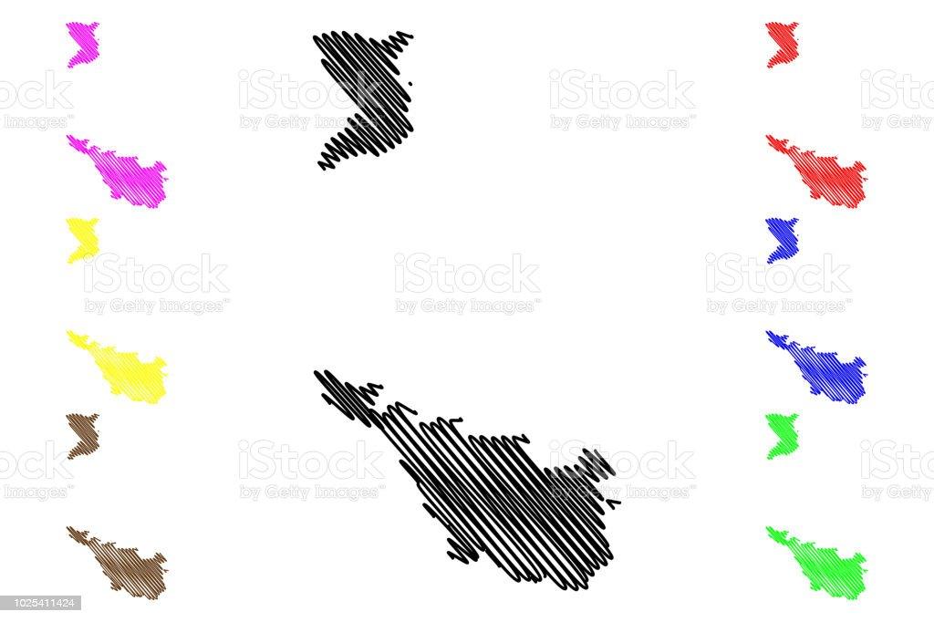 Bundesland Bremen Karte.Bremen Karte Vektor Stock Vektor Art Und Mehr Bilder Von Abstrakt