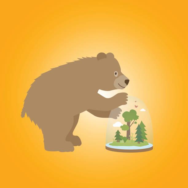 Bärenliebe – Vektorgrafik
