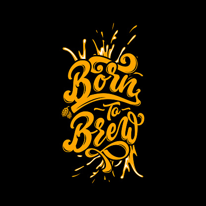 Brewery Custom Lettering & Typography